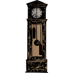 grandfatherclock colour