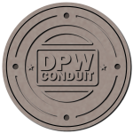 Manhole cover large vector image
