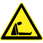 Signs hazard warning sign vector image