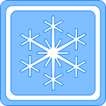 Winter season sign vector image