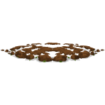 harvestable resources dirt pile