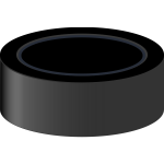 Hockey puck vector clip art