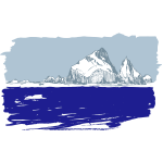 Iceberg vector sketch