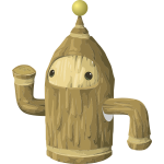 Wooden character