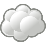 Internet cloud vector graphics