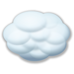 Internet cloud vector image