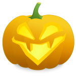 LOL pumpkin vector drawing
