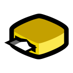 Vector image of card reader