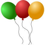 Balloons vector illustration
