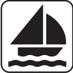 Sailing pictograph