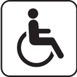 Disabled pictograph