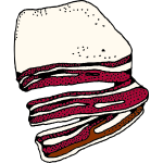 Bacon vector illustration
