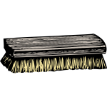 Scrub brush vector illustration