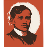 Jose Rizal vector portrait