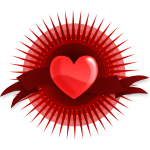 Vector illustration of heart