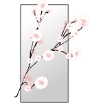 Spring blossom vector graphics