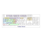 Custom keyboard mapping for Urban Terror vector graphics