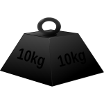10 kg weight