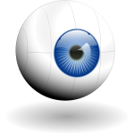 Eye vector clip art