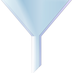 Laboratory conical funnel