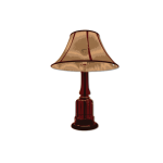 Brown table lamp