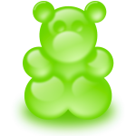 Gummy bear (sort of)