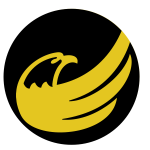 Eagle logo black and yellow