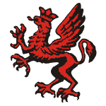 Polish 16th Infantry Division dragon vector clip art