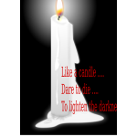 Lilin (A candle)
