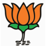 Lotus BJP symbol vector drawing