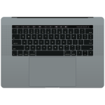 macbook pro keyboard touch bar OC bw