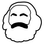 marx head icon