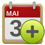 matt icons appointment add