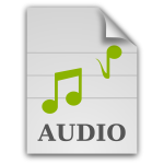 matt icons audio x generic