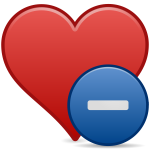 matt icons bookmark minus