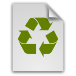 matt icons file x trash