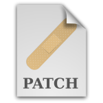 matt icons text x patch