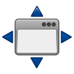 View full screen icon