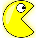 Pacman vector drawing