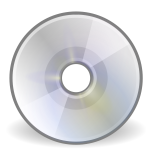 Vector illustration of CD/DVD icon