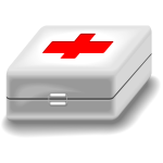 Medical kit vector