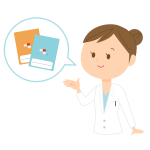 Medical instructor vector image