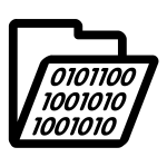 Binary folder icon