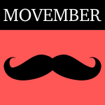 Movember icon vector clip art