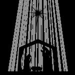 Vector Illustration Of Classic Black And White Nativity Scene Free Svg