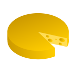 Cheese vector graphics