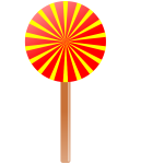 Vector image of lollipop