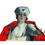 Vector illustration of nurse