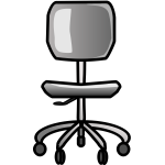 Office chair vector illusttaion