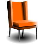 Old-fashioned armchair